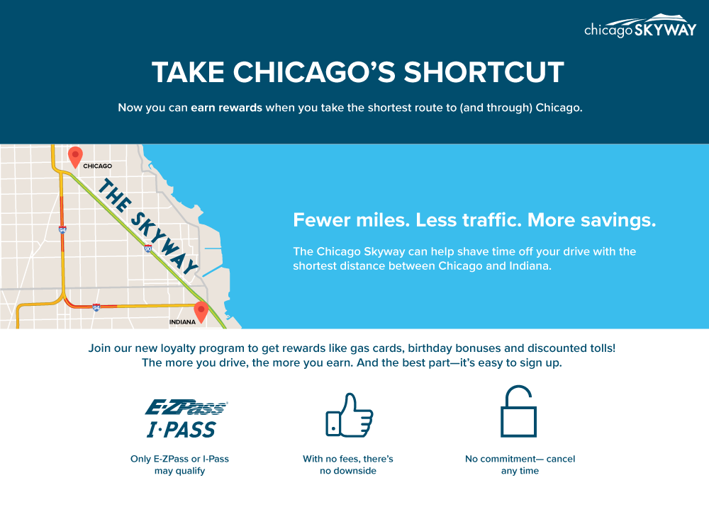 Chicago Skyway Loyalty Program | Registration